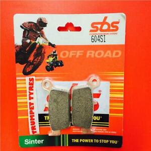 Gas GAS MC 125 03 > ON SBS Rear Off Road Sinter Brake Pads EO QUALITY 604SI