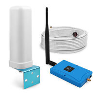 2100MHz 3G LTE 4G Signal Booster Cell Phone Repeater 70dB Gain Kit for Band 1