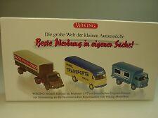 "Wiking Mercedes Set ""pubblicità in causa propria"" - 0990 90 - 1/87"