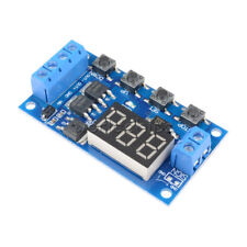 Dual MOS 5-36V Control Delay Relay Trigger Cycle Timing 12V 24V On/ Off Switch