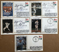 1988 World Series Complete Set Gateway Signed By 4 Cachets