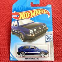 "Hot Wheels Volkswagen Golf MK2 ""HQVYK"" Mattel Car Toy Brand NEW"