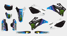 0448 YAMAHA WR 250 F 2007-2014 WR 450 F 2007-2011 DECAL STICKER GRAPHIC KIT