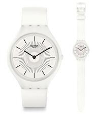Swatch Skin skinpure Reloj svow100 Análogo SILICONA BLANCO