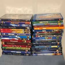 Huge Lot of 35 Used Blu-ray/DVDs with 39 Movies (Lot 3) Disney Pixar Dreamworks