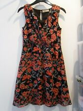Ladies Billie & Blossom Petite Floral Wrap Dress Size 6 (AD)
