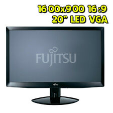 """Monitor usato ricondizionato Fujitsu L20T-2 20"""" 1600x900 16:9 VGA LED"""