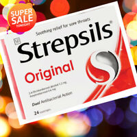 Strepsils Original Menthol Soothing & Cooling effect cough relieve Lozenges 24