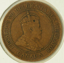 1905 Canada Large Cent Km 8 FREE SHIPPING