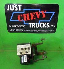 07 08 09 10 Chevy Silverado GMC Sierra 2500 3500 ABS Motor Anti-lock Brake GM