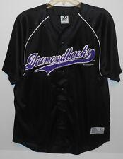 Diamondbacks Dynasty Series Black MLB Jersey Mens Large