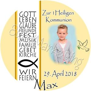 Tortenaufleger Kommunion/Firmung/Konfirm Farbwahl Tortenbild Fototorte  0618