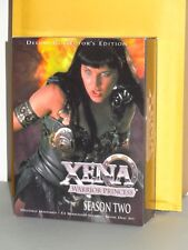 Xena Complete 2nd Season Two DVD collection Lucy Lawless Renee O'connor