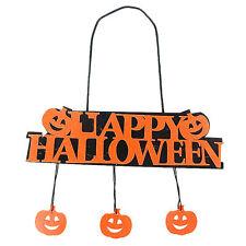 Halloween Pumpkin Pendant Door Decor Party Decoration Halloween Hanging Banner