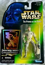 Kenner Star Wars The Power of the Force Hoth Rebel Soldier Action Figure