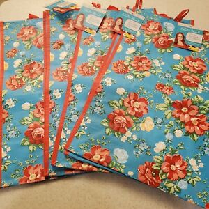 Pioneer Woman Reusable Shopping Tote Bag 4 Vintage Floral