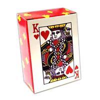 54 Mini Spielkarten Kartenspiel Poker Skat Karten Deck Minikarten Pokerkarten