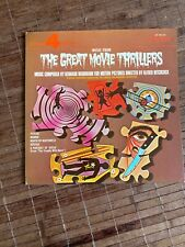 BERNARD HERRMANN: Music From The Great Hitchcock Movie Thrillers LP (v. sl cw)