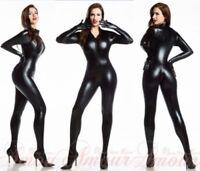 PVC Women Lingerie Teddie ClubWear Underwear Jumpsuit Catsuit Fancy Dress