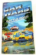 Rare Car Wars #1: Battle Road Steve Jackson Solo Adventure Gamebook TSR CYOA
