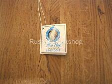 1960's/70s Cameo doll Newborn Miss Peep Wrist Hang Tag (Reproduction)