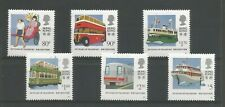 "HONG KONG 1991 ""80 YEARS OF TRANSPORT"" FINE UNMOUNTED MINT SET (6) TO $5.00"
