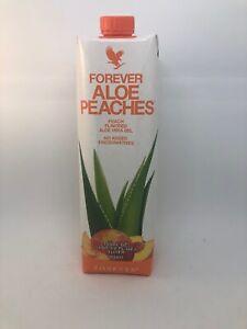 New Forever Living  Aloe Peaches 33.8 fl.oz (1 Liter)