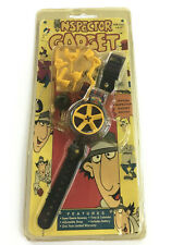 NOS Official Inspector Gadget WRISTWATCH •1994 DIC Animation City, Inc, LCD Dial