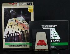 Star Wars The Arcade Game with Box & Manual Colecovision 1984 Free US Shipping