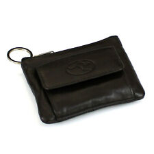 Unisex Premium Leather Money Keyring Pouch Coin Purse Wallet Australia Kangaroo