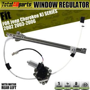 Power Window Regulator with Motor for Jeep Cherokee KJ 02-06 Rear Left Passenger