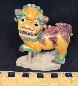 Antique Chinese Tri-color FOO DOG  ex Arte Primitivo Auction