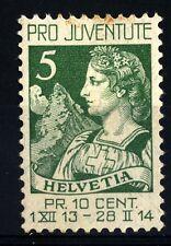SVIZZERA - 1913 - Pro Juventute. Helvetia -