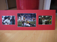 Signed & Mounted Jason Robinson 2003 England Rugby Union World Cup Display