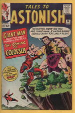 Tales to Astonish #58 Origin of Colossus August 1964, Marvel, 1959 Series VG+