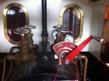 Loco Valve Hand Wheel, Brass, Live Steam