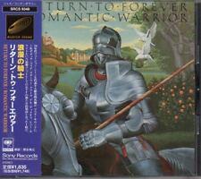 Return To Forever Romantic Warrior JAPAN CD with OBI SRCS9348