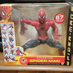 ToyBiz The Amazing Spider-Man 2 Action Figure 18 inches with Webshooter Unopened