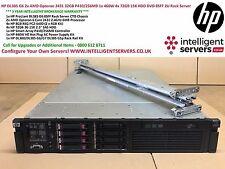 HP DL385 G6 2x 2431 12-Cores 32GB P410/256MB 1x 460W 4x 72GB HDD 2U Rack Server