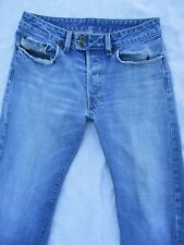 DIESEL Rabox Italy destroyed denim low rise vintage straight leg jeans 29x31