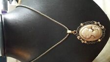 """VINTAGE STYLE """"CAMEO"""" PENDANT NECKLACE"""