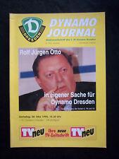 ORIG. prg 1. liga 1994/95 1.fc dinamo dresde-vfb stuttgart!!!