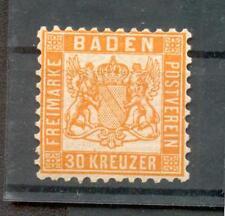 Baden 22a FARBE * MH 180EUR (A6566