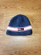 Ralph Lauren RLX POLO SPORT Knit Skull Cap Wool Beanie Winter Hat