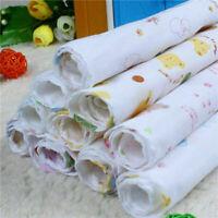Doppelschicht Hohe Dichte Gedruckt Gaze Taschentuch Baby Speichel Handtuch W3K0