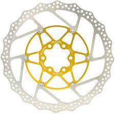 160mm Floating Disc Brake Rotor 6 Bolt MTB Bicycle Bike Teppan Yaki A2Z Gold
