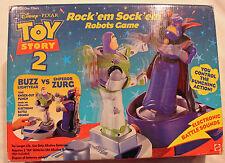 Toy Story Buzz & Zurg ROCK'EM SOCK 'EM ROBOTS!!!!