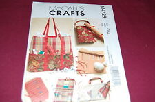 McCalls Pattern # M4728 - Knitting & Sewing Organizers - Hook Case, More - NEW