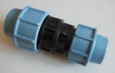 PE Rohr Klemmfitting Kupplung Reduktion 32-25mm Wasserleitung Verbinder