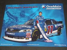 2013 ELLIOTT SADLER #11 ONEMAIN FINANCIAL NASCAR POSTCARD